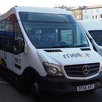 Mellor Strata Mercedes-Benz Sprinter Minibus demonstrator  DF66 AEC (2)