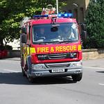 Lancashire Fire & Rescue Service DAF LF PO13 CZV (3)