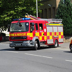 Lancashire Fire & Rescue Service DAF LF PO13 CZV (1)