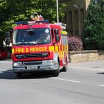 Lancashire Fire & Rescue Service DAF LF PO13 CZV (2)