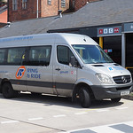 Greater Manchester Accessible Transport Ltd. Mercedes-Benz Sprinter  BU08 GXY 'Ring & Ride'