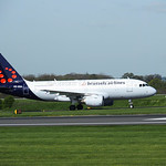 Brussels Airlines Airbus A319 OO-SSA flight SN2173 from Brussels