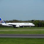 United Airlines Boeing 757-200 N34137 flight UA80 to New York (EWR)