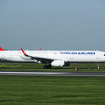 Turkish Airlines Airbus A321-231 flight TK1993 TC-JTP from Istanbul