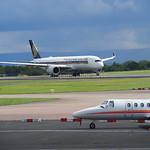 Singapore Airlines Airbus A350-900 9V-SMA flight SQ51 to Singapore (4)