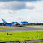 TUI Airlines UK Boeing 787-8 G-TUID flight BY2700 to Larnaca