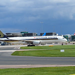 Singapore Airlines Airbus A350-900 9V-SMA flight SQ51 to Singapore (1)