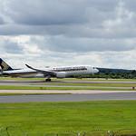 Singapore Airlines Airbus A350-900 9V-SMA flight SQ51 to Singapore (5)