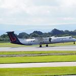Brussels Airlines De Havilland Dash 8 flight SN2174 to Brussels (2)