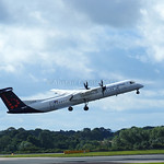 Brussels Airlines De Havilland Dash 8 flight SN2174 to Brussels (3)