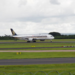 Singapore Airlines Airbus A350-900 9V-SME flight SQ52 to Houston (4)