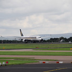 Singapore Airlines Airbus A350-900 9V-SME flight SQ52 to Houston (3)