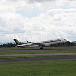 Singapore Airlines Airbus A350-900 9V-SME flight SQ52 to Houston (5)