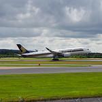 Singapore Airlines Airbus A350-900 9V-SMA flight SQ51 to Singapore (6)