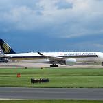 Singapore Airlines Airbus A350-900 9V-SMA flight SQ51 to Singapore (2)