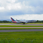 American Airlines Boeing 767-300 flight AA55 to Chicago (2)