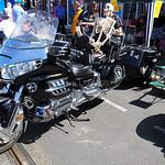 31. Honda Goldwing and trailer
